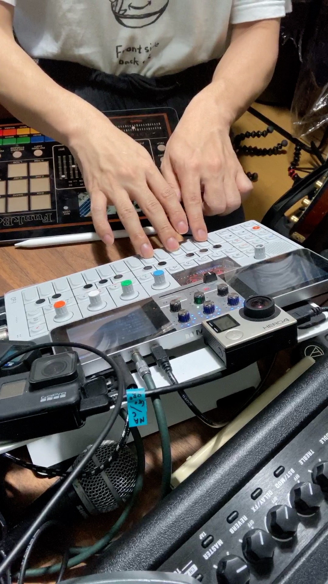 サンプリングして遊ぼう!Teenage Engineering OP 1×MONSTER GODJ